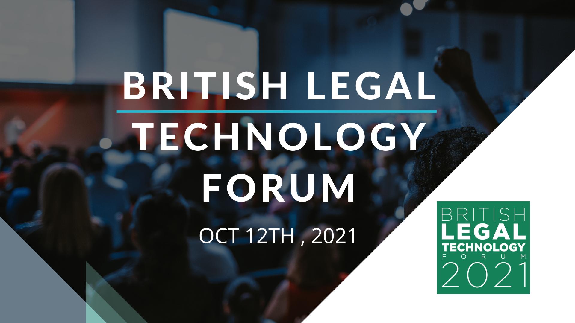 British Legal Technology Forum 2021